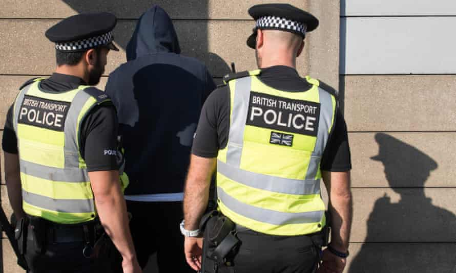 The government extended stop-and-search powers to a further 8,000 police officers on Sunday.