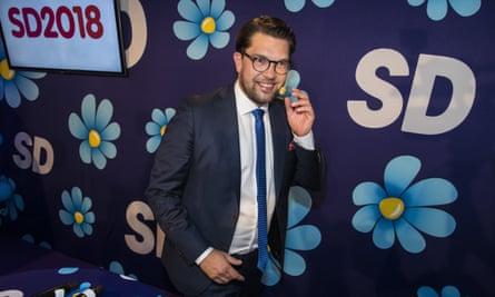 Swedish Democrats leader, Jimmie Åkesson