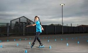 Alice Lean: 'I love developing new tricks.'