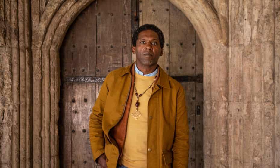 Lemn Sissay at Canterbury Cathedral. last week.