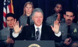Bill Clinton in 1999, just before his impeachment trial. He was acquitted.