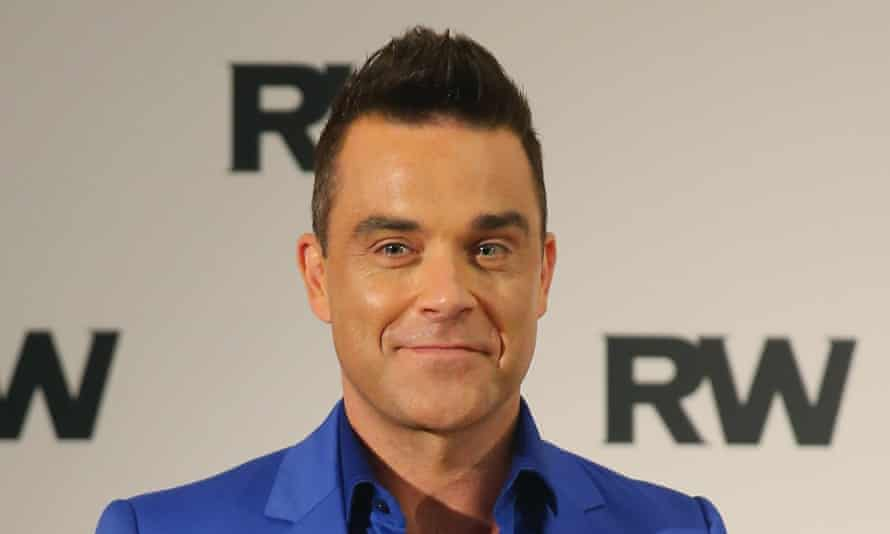 Robbie Williams, in Australia in 2015.