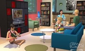 Dream pad … The Sims.