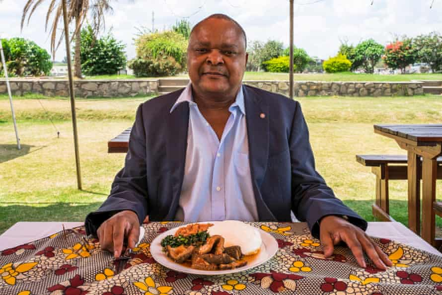 David Phiri, a regional director at the UN's Food and Agriculture Organisation, in Harare, Zimbabwe.