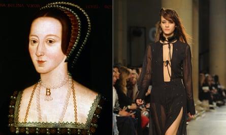 Anne Boleyn and Topshop Unique at LFW.