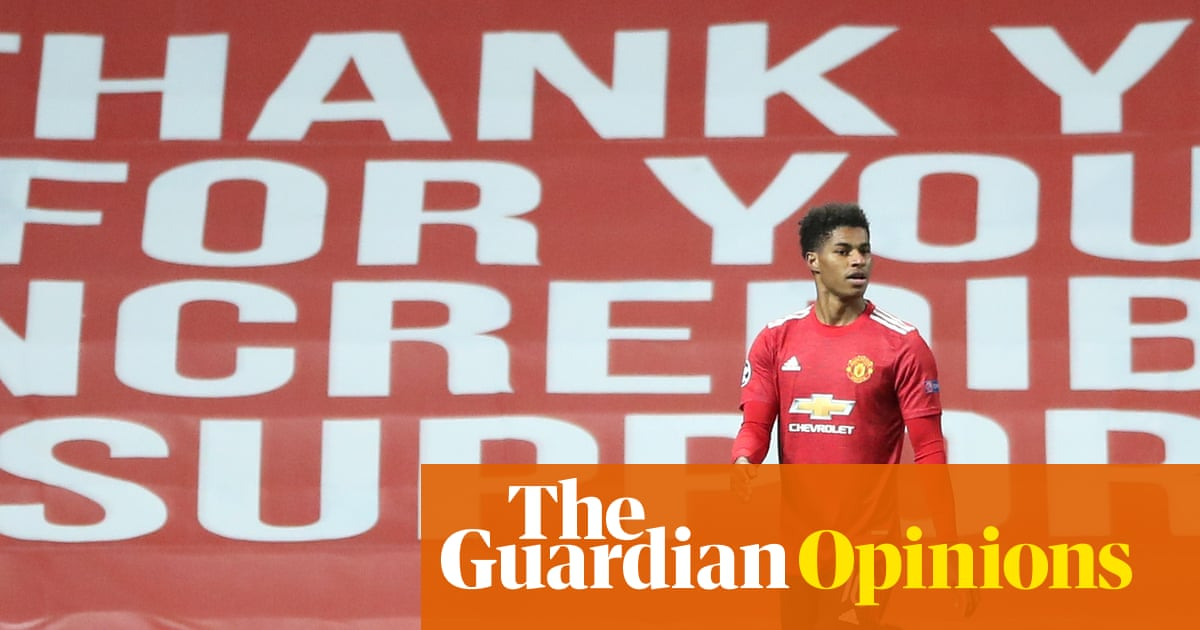 Marcus Rashford is 'playing politics'? That's great – he's better at it than politicians