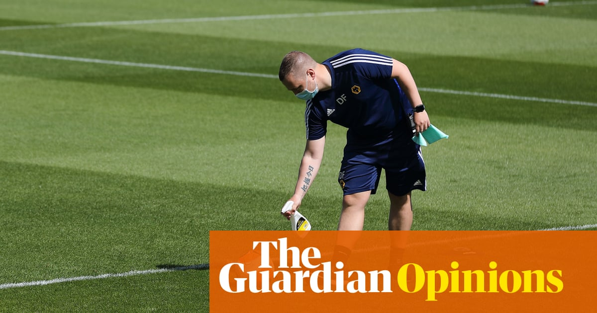 Football is back and all it took was the spectre of financial catastrophe | Jonathan Liew