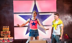 David Moorst as Gary and Sam Spruell as Mark in Shopping and Fucking at the Lyric.