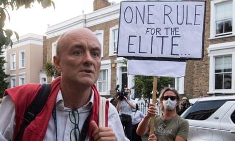UK coronavirus live: minister resigns over Dominic Cummings' lockdown trip