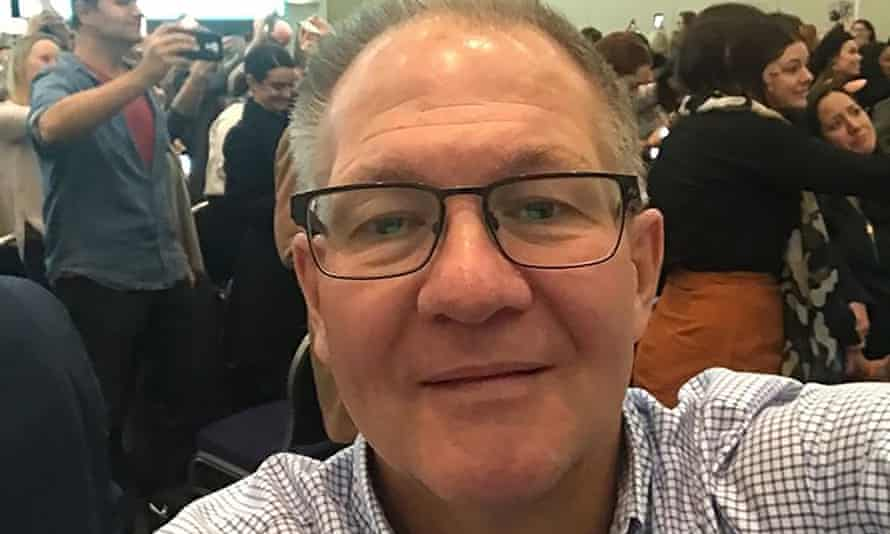 Gavin Dallow died in the White Island volcano eruption along with his stepdaughter Zoe Hosking and 20 other victims. 'I want him remembered as the caring person he was,' his sister said.