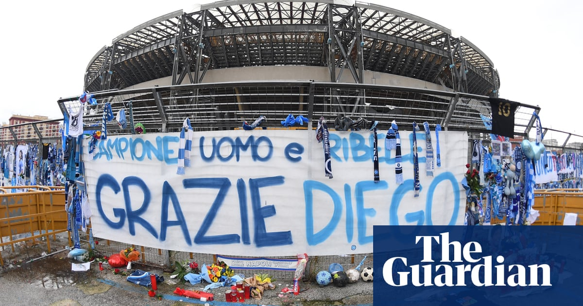 The names that grace Italian football stadiums: from the Pope to Maradona