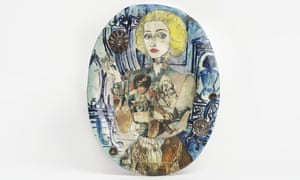 Claire As a Soldier (1987) by Grayson Perry.