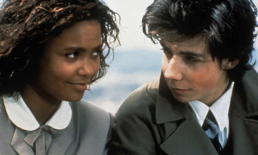 Newton with Noah Taylor in her debut feature film, Flirting (1991).