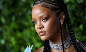 Rihanna, pictured at the Fashion Awards in London in December.