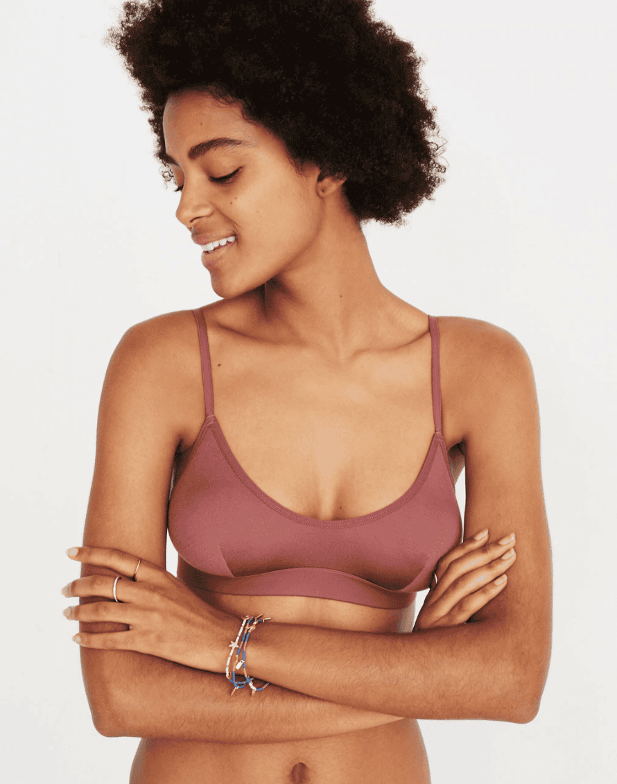 Madewell's bralettes – 'unfussy, simple and minimal'.
