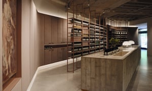 City oasis: Aesop now has more than 230 shops worldwide and each is a masterclass in simplicty and good design