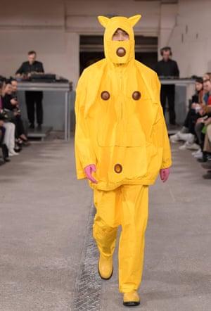 Walter Van Beirendonck show, Paris Fashion Week, 2018.