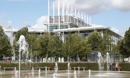 The business park in Sunbury-on-Thames, Surrey, which Spelthorne borough council has reportedly bought for £360m.