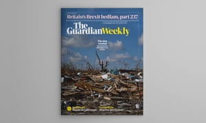 The cover of Guardian Weekly, 13 September 2019.