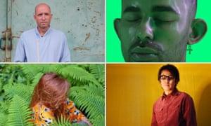 Mix masters … clockwise from top left: Serge, Xzavier Stone, Susumu Yakota and Gigsta