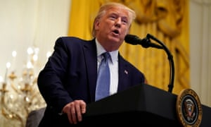 Donald Trump has defended his open calls for foreign governments to investigate a political rival by repeating that there was 'no quid pro quo'.