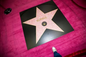 RuPaul's star