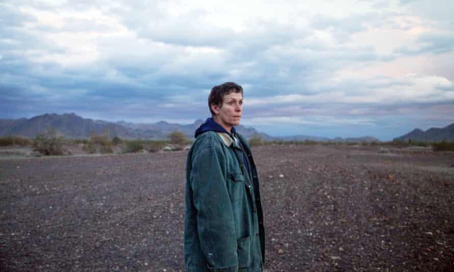 Frances McDormand in Nomadland.