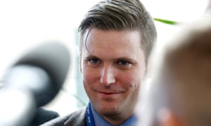 Richard Spencer, a leader and spokesperson for the so-called 'alt-right' movement, in Maryland.