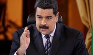 Venezuela's President Nicolas Maduro speaks