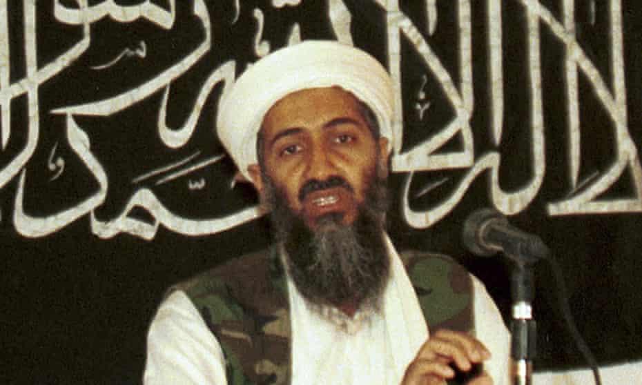 Osama bin Laden pictured in 1998.