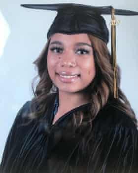 Sarayah Jade Redmond, 19, was killed last September in California.