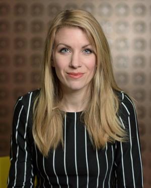 Doesn't shy away from tough topics … Rachel Parris.