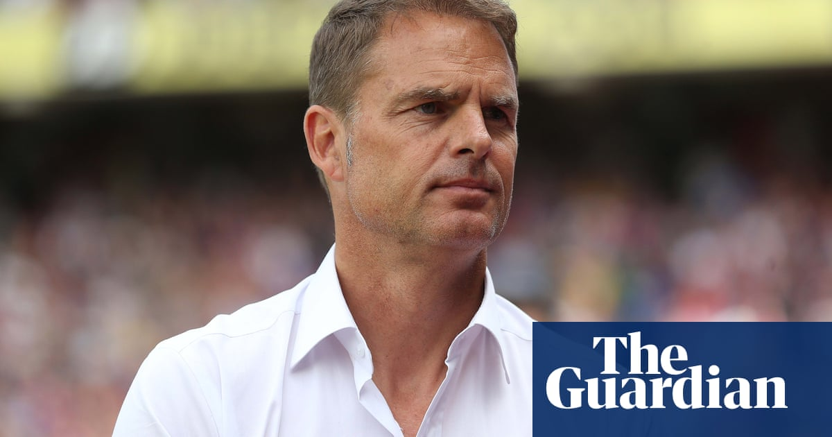 Frank de Boer: Equal pay at international level now would be ridiculous