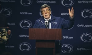 Al Pacino as Joe Paterno in a still from HBO's Paterno.