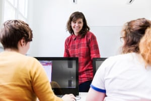 Teacher Rebecca Perkins from Roxburgh College