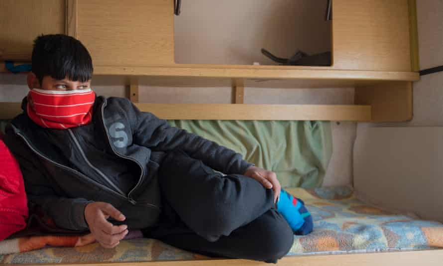 M, 12, from Afghanistan: 'Usually I'm teargassed'