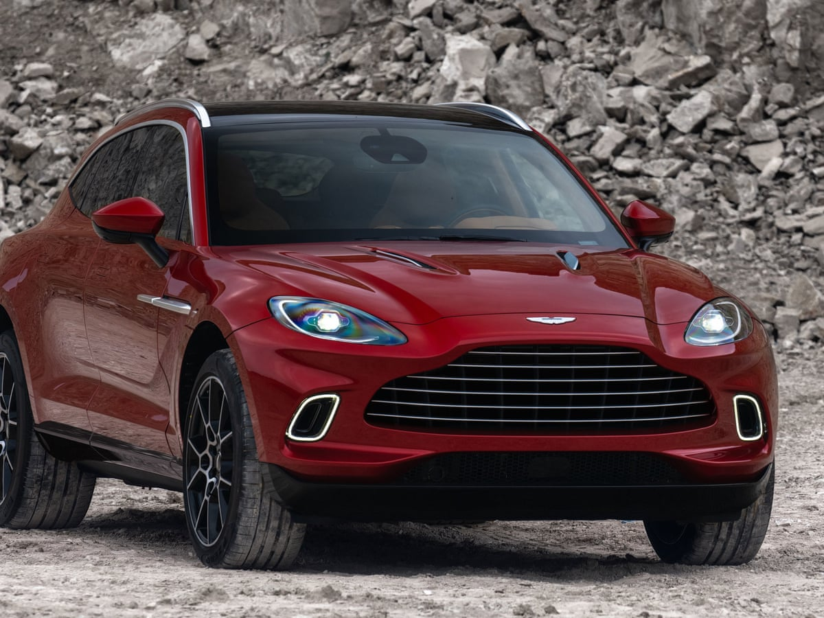 Aston Martin Unveils 158 000 Suv Aimed At Wealthy Women Aston Martin The Guardian