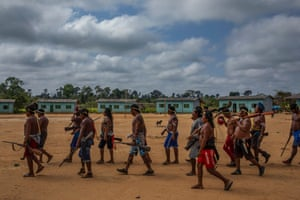 Xikrin warriors went on an expedition to reclaim their land in Pará state