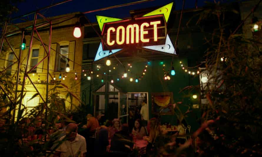 Comet Ping Pong, the restaurant at the centre of Pizzagate, in After Truth
