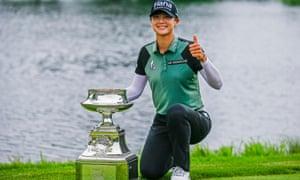 Sung Hyun Park won the Women's PGA at the weekend.