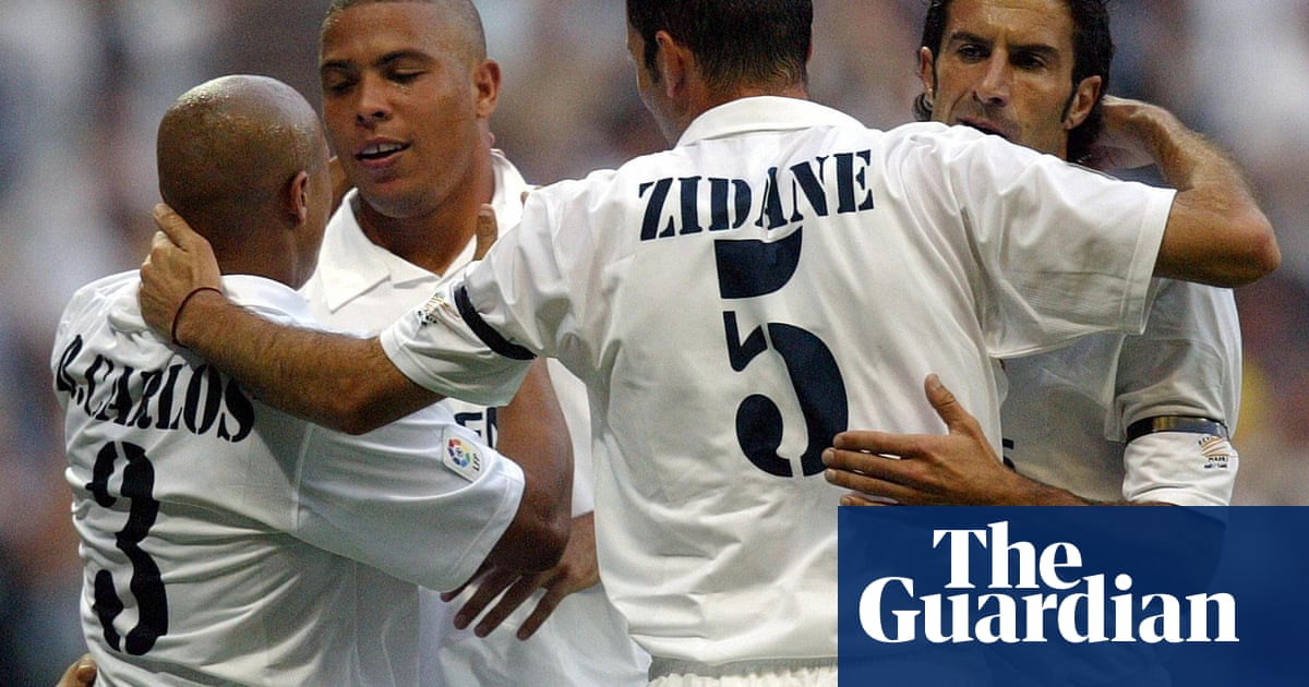 8f6f77b463f Zinedine Zidane s career at Real Madrid – in pictures