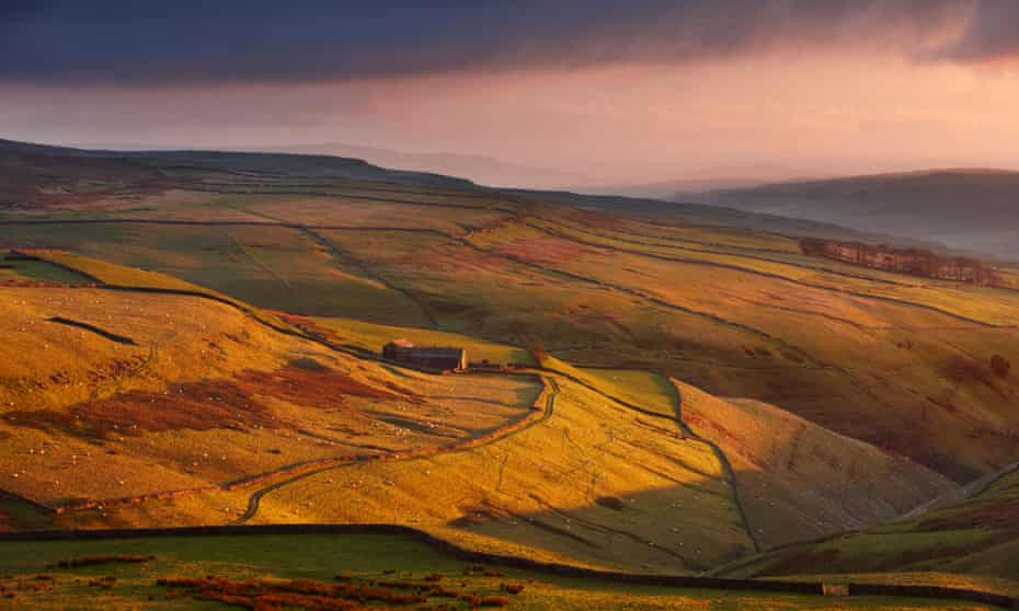 Wharfedale in the Yorkshire Dales. Photograph: Alamy