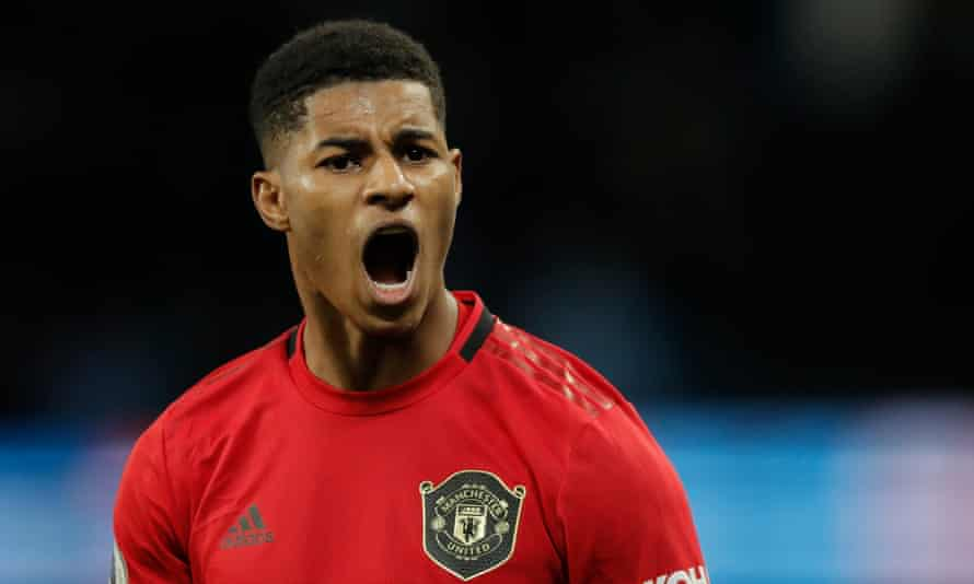 Marcus Rashford made his league debut for Manchester United in February 2016.