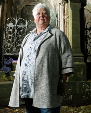 'Queen of Crime' ... Val McDermid.