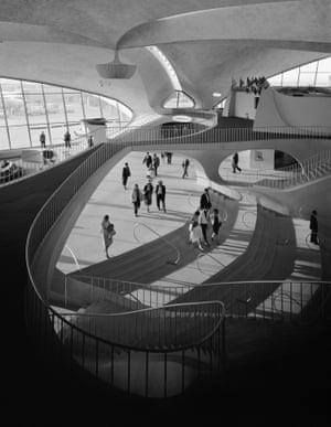 TWA Terminal at Idlewild (now JFK) airport. Eero Saarinen. New York, NY, 1962