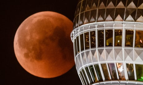 Super blood wolf moon: rare total lunar eclipse to appear in