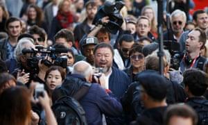 Ai Weiwei and Anish Kapoor