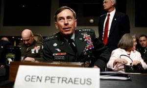 David Petraeus in 2010.