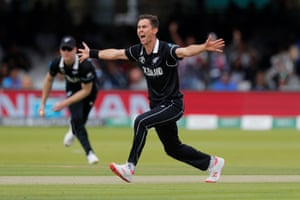 Trent Boult, who bowled the 50th over of England's innings and then the super over at Lord's.