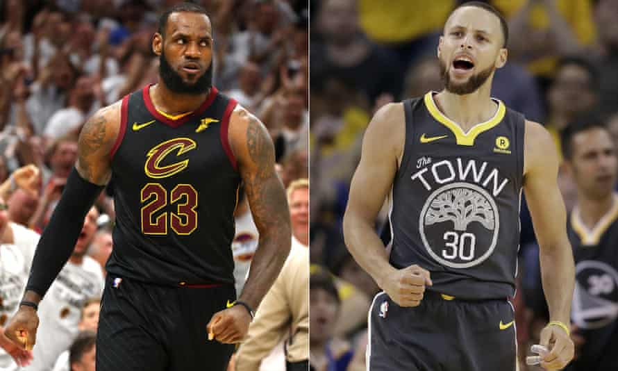 LeBron James and Steph Curry are preparing to do battle once again in the NBA finals.